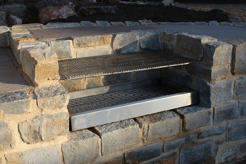 Outdoor Kitchen Inc Pizza Oven Bbq Seating Patio S